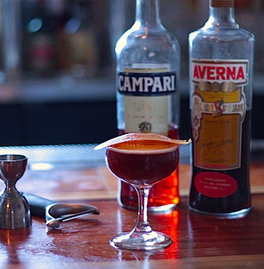 Special cocktail at Brilliantshine, Los Angeles by Josh Goldman