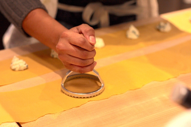 Making pasta at Knead Los Angeles