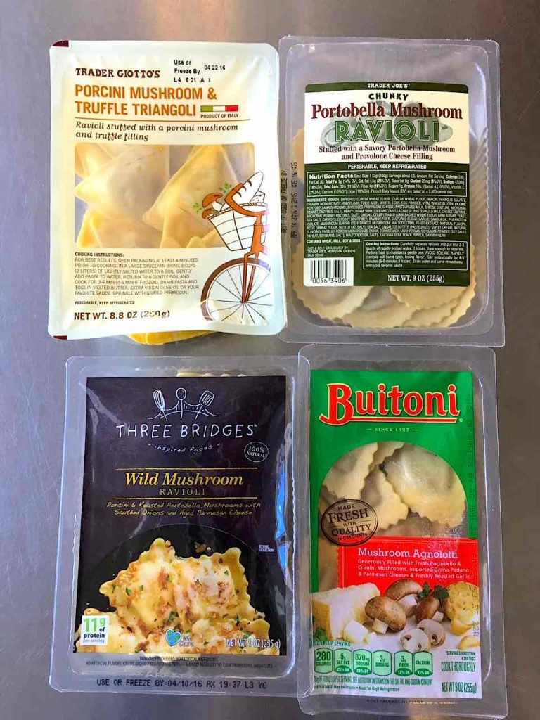 Fresh pasta Los Angeles used in the test
