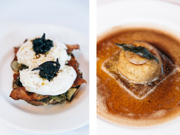 Osteria Mozza two of the best dishes