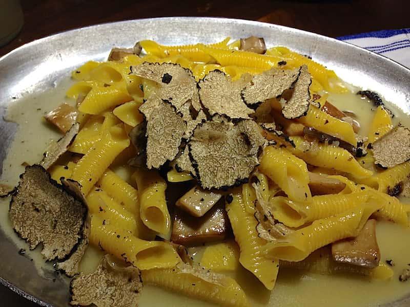 Pasta dish at Osteria Venice West