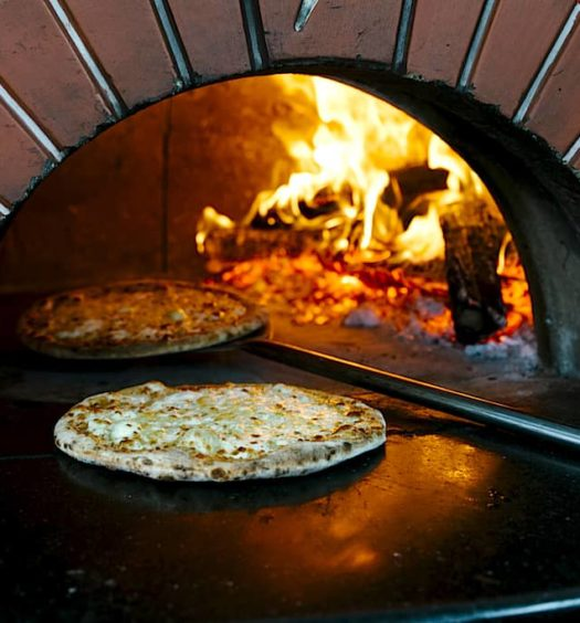 Pizza & Co woodfire oven