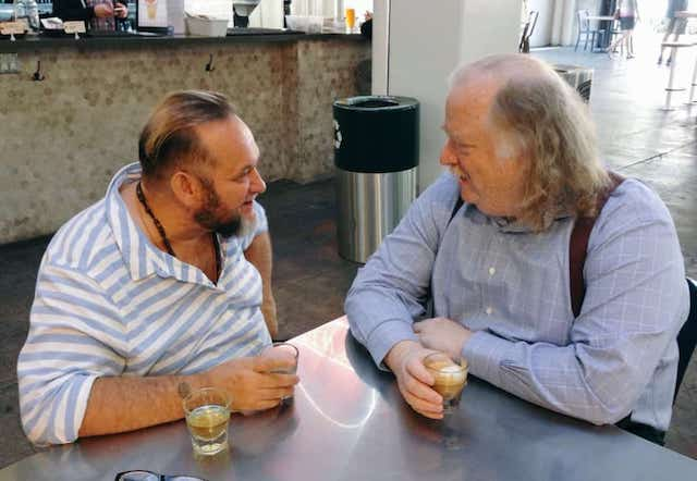 Talking Italian food and much more with Jonathan Gold