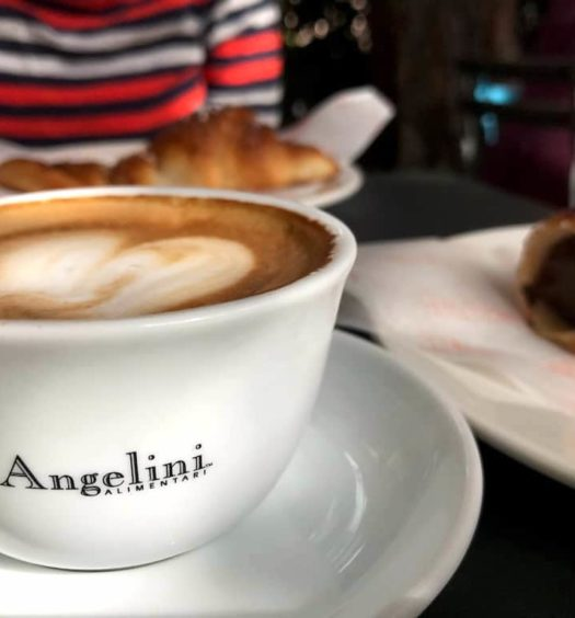 italian restaurant openings LA fall 2016 angelini alimentari: cappuccino and pastries