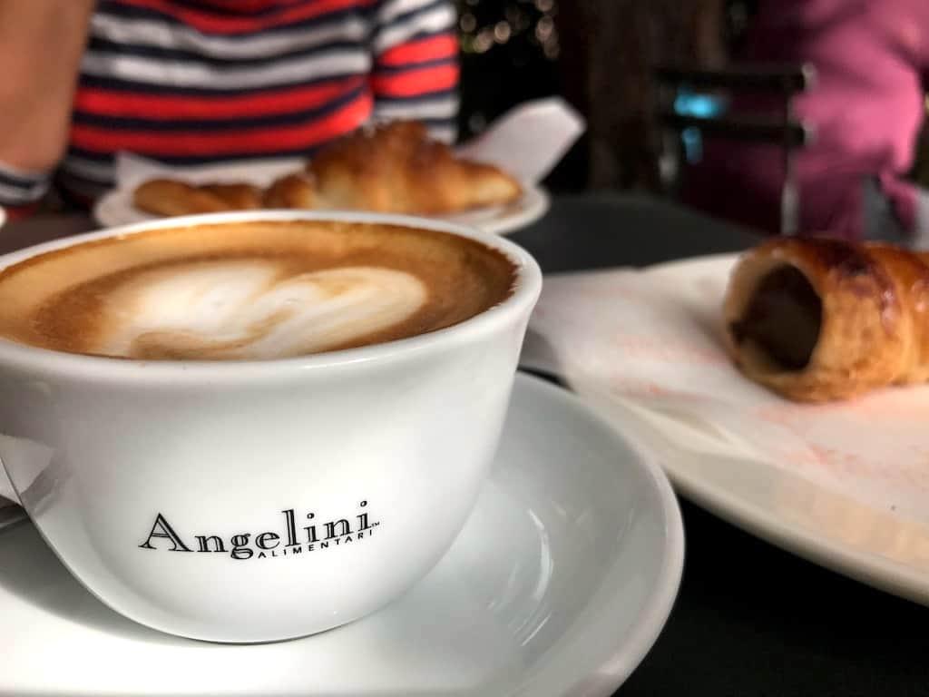 italian restaurant openings LA fall 2016 angelini alimentari: cappuccino and pastries