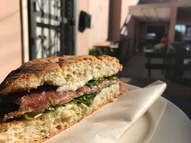 italian restaurant openings LA fall 2016 angelini alimentari: prosciutto panino