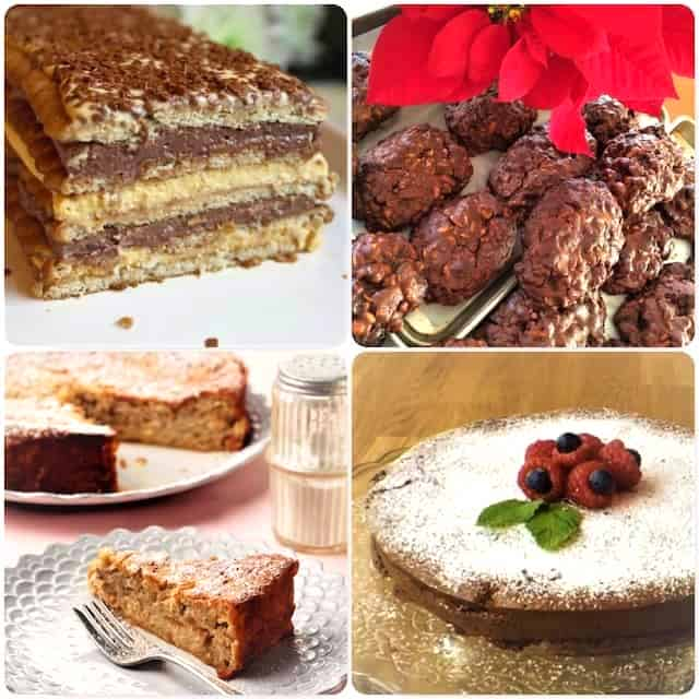 no italian christmas dinner would be complete without desserts