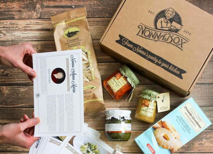 Nonna Box delivers Italian gourmet foods to the US
