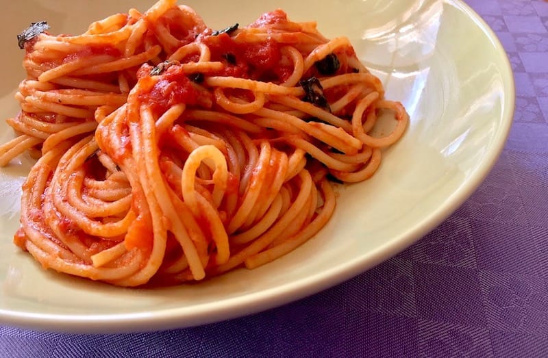 scott conant spaghetti made at home