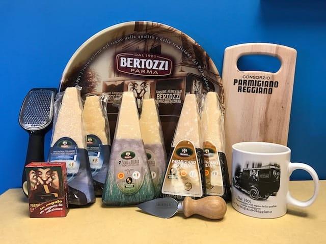 Parmigiano Reggiano Bertozzi Gift Box