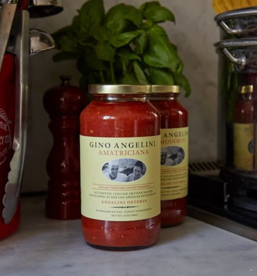 Gino Angelini Foods line of pasta sauces