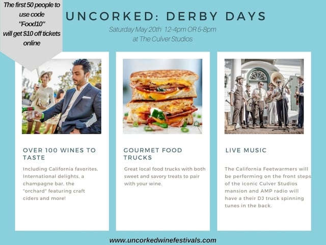 See you at Uncorked Derby Days 2017