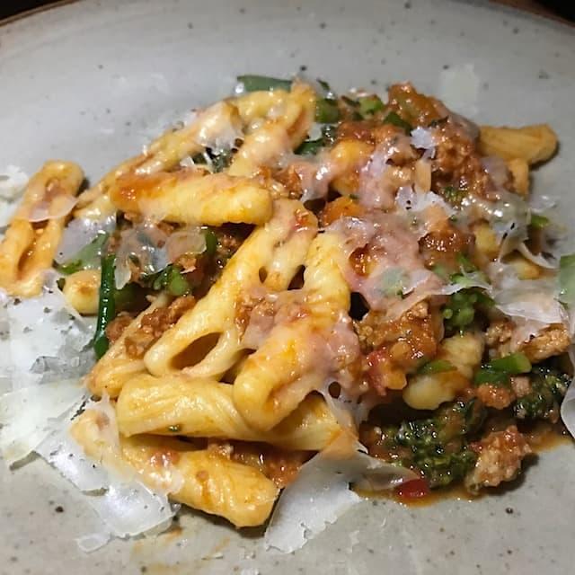 Capunti Pasta at Felix Venice Trattoria