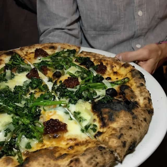 Pizza from Felix Venice Trattoria