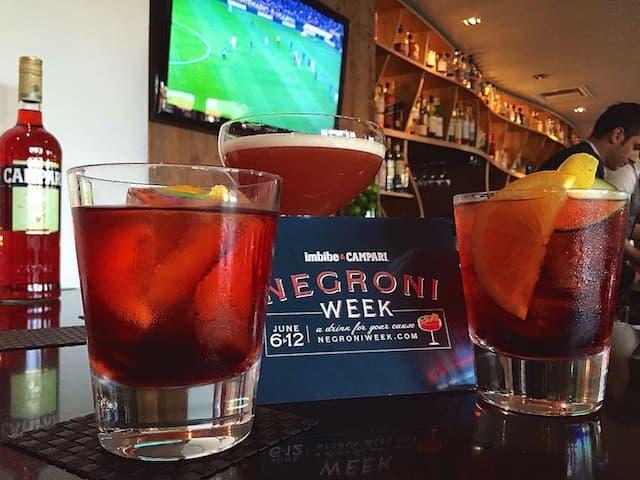 Negroni Week 2017 at Bar Toscana