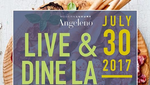 Eat and Drink Italian at Live & Dine LA!