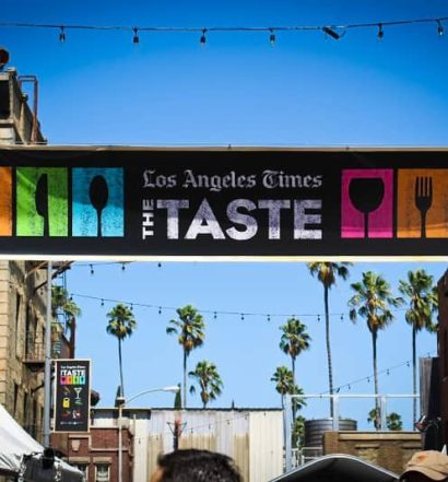 The Taste 2017 by LA Times event cover