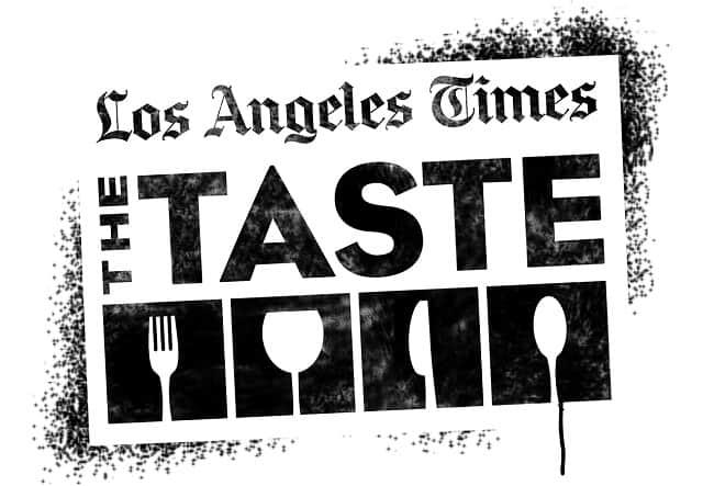 LA Times The Taste 2017 Logo