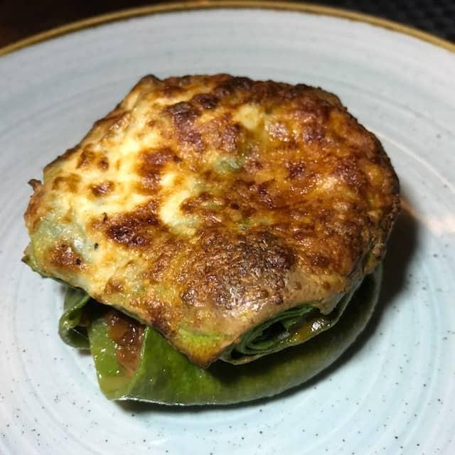 Lasagnetta di Carne at Bar Toscana, Brentwood