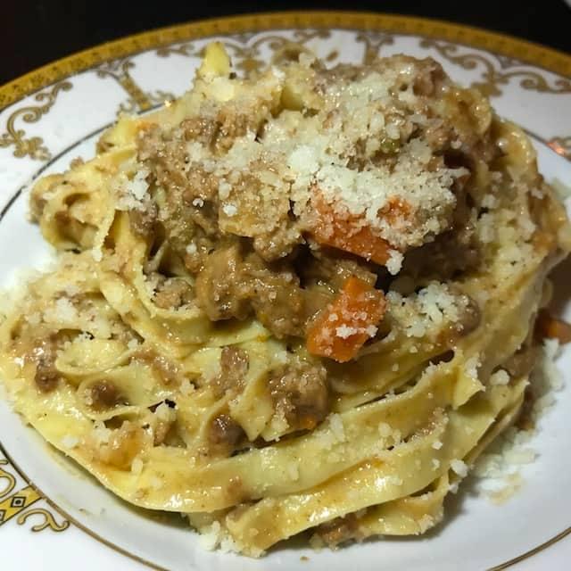 Best Parmigiano Reggiano Restaurant Dishes : Tagliatelle at Rossoblu