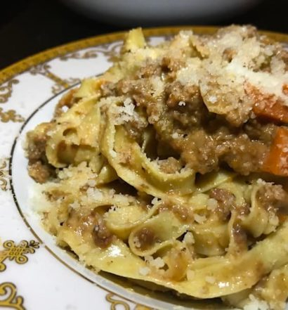 Best Parmigiano Reggiano Restaurant Dishes : Tagliatelle at Rossoblu, Los Angeles