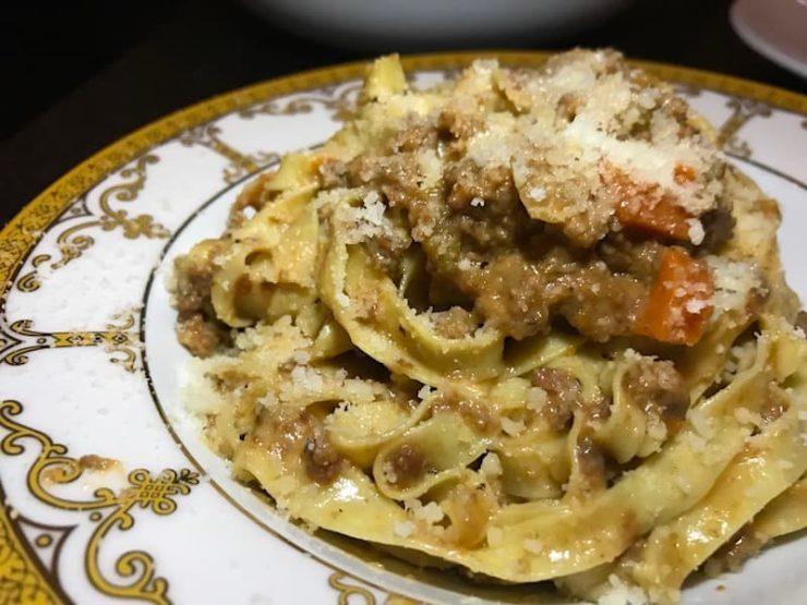 Best Parmigiano Reggiano Restaurant Dishes : Tagliatelle at Rossoblu, Los Angeles