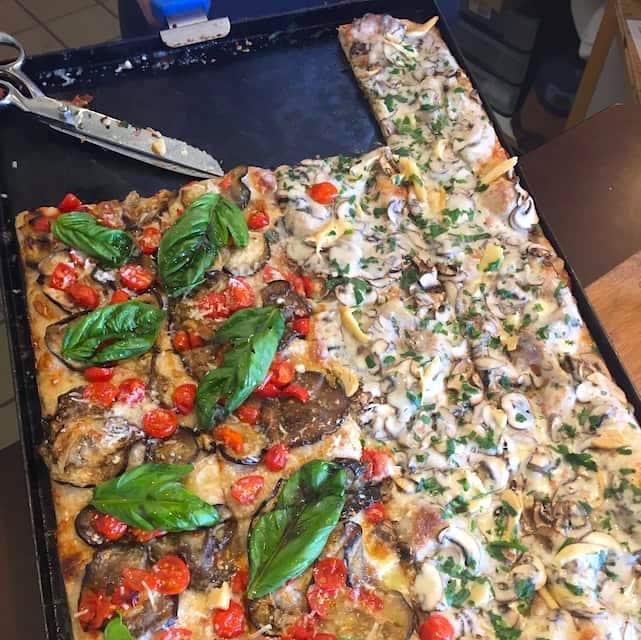 pizza il romanista, el segundo