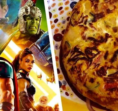 Talking Italian Food with the men from Thor: Ragnarok