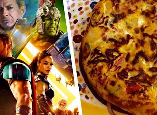 Talking Italian Food with the men from Thor: Ragnarok