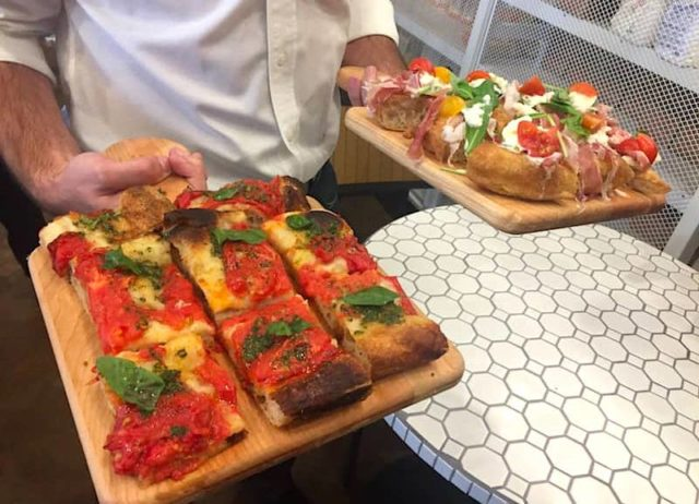 Italian foods at the new Eataly los Angeles