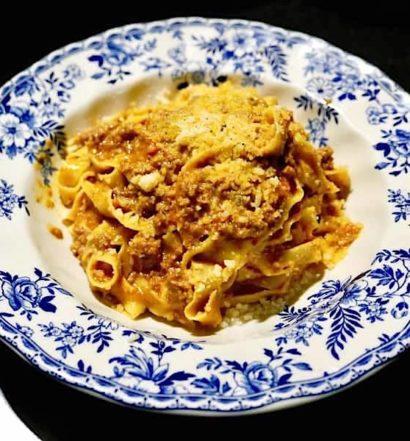 best pasta los angeles: tagliatelle al ragu at Sotto by Joshua Lurie