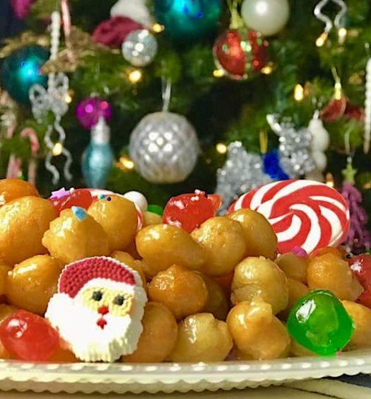 christmas recipes by Italian chefs - struffoli