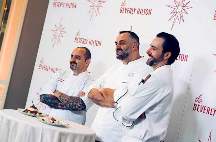 2018 golden globes dinner italian chefs