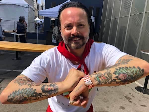 Tony Gemignani tattoo
