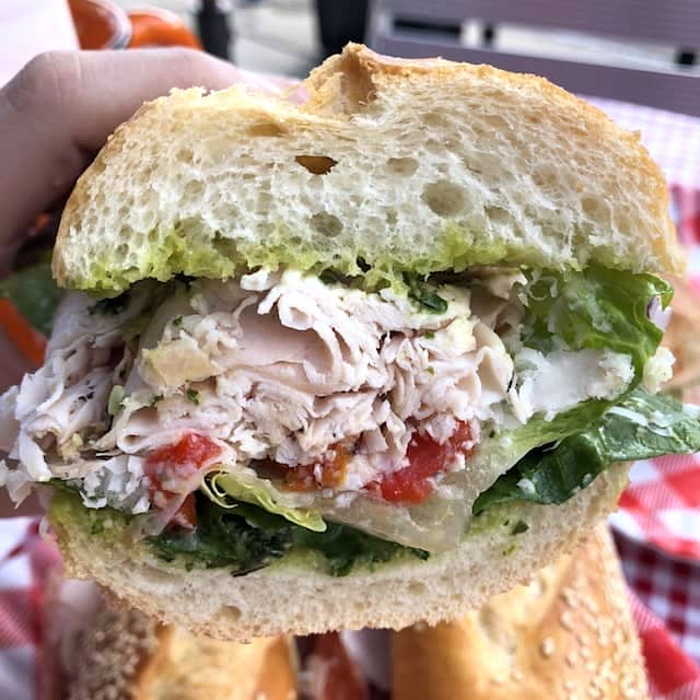 Try different flavors at Uncle Paulie's Deli
