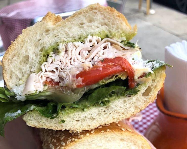 Uncle Paulie's Deli sandwiches